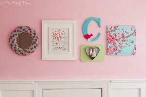 nursery gallery wall 2