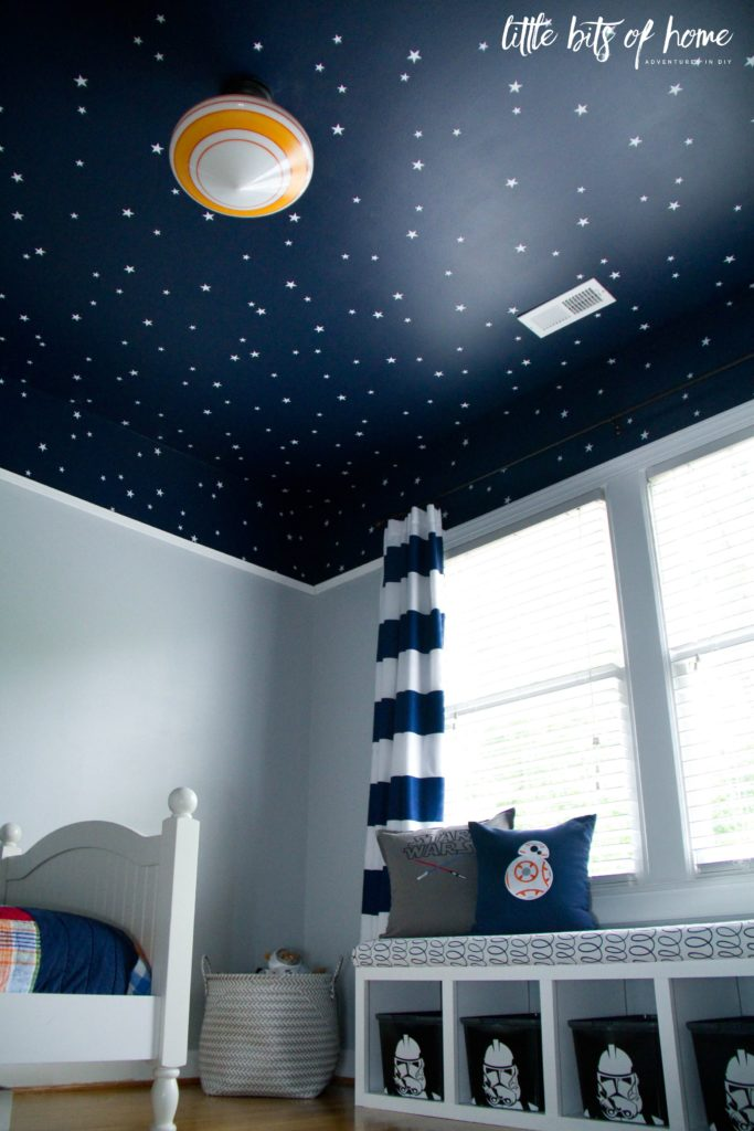 Star wars bedroom reveal 5 year old boy room decoration
