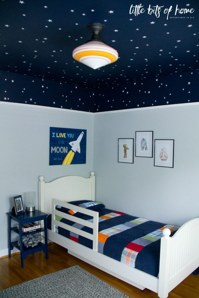 Summer home tour 5 year old boy room decoration