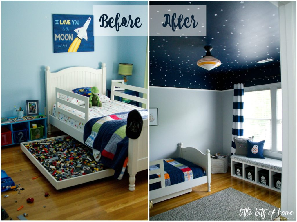 star wars room reveal before after