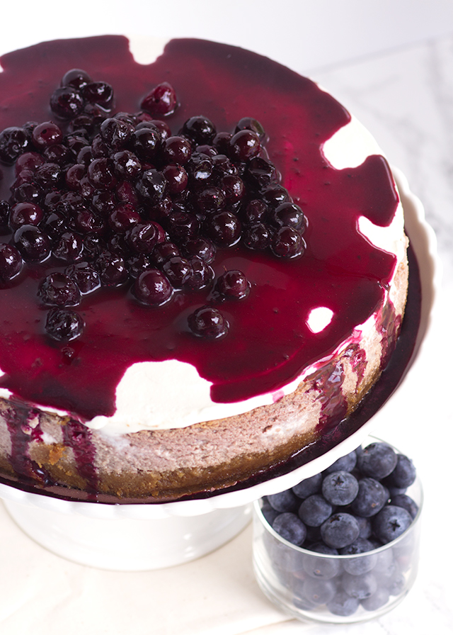 blueberry-cottage-cheese-cheesecake
