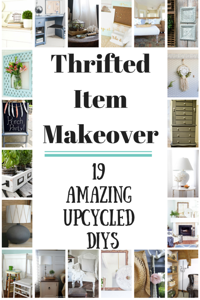 Thrift Store Item Makeover blog hop