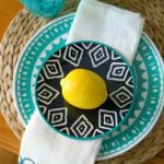 Create with Me Challenge- Stamped Table Linens