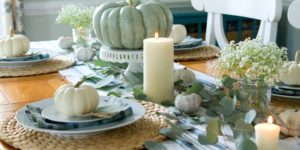 Fall Tablescape 2016