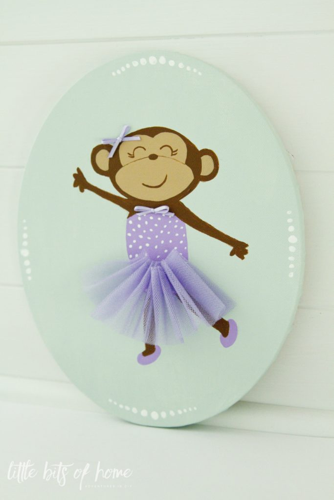 monkey-ballerina-mixed-media-art
