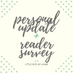 Personal Update + Reader Survey!