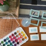 Create with Me Challenge- Watercolor Labels
